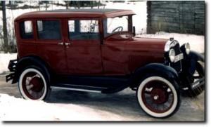 Ford Model A 4d Sedan 1929