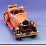 Gartner Wood Ford Model A Sculpture
