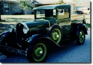 Ford Model A Steel Cab Pickup 1931