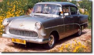 Opel Olympia Rekord 1959 4d 1700cc