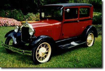 Ford Model A Tudor 1929