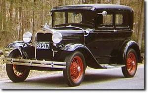 Ford Model A Tudor 1930