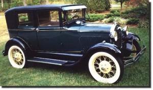 Ford Model A Fordor Sedan 1929