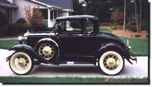 Ford Model A Deluxe Coupe 1930