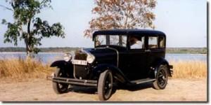 Ford Model A Standard Sedan 1930