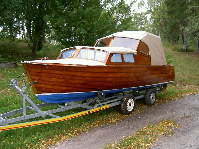 Classic Swedish Boat