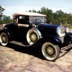 Ford Model A Roadster Deluxe 1931
