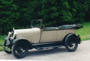 Ford Model A Pheaton
