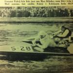 Fakej and Max Klinke C-Klass Boat Racing
