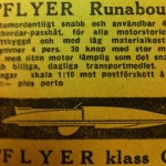 Flyer klass C racerbåt