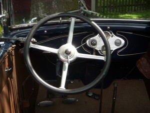 Ford Model A dlx Phaeton. Olle Bergstrom Netclassics