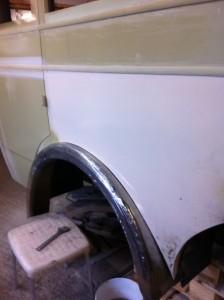 buss v sida hjulhuskant