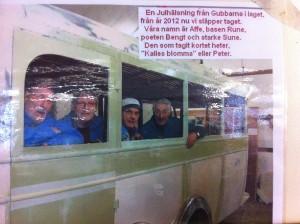 bussgänget julhälsning 2012