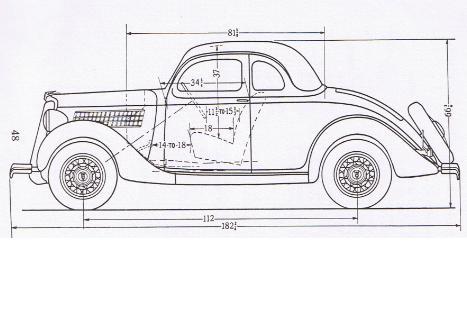 Ford V8 3W Coupe Netclassics