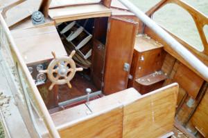 Vätö Cabin Mahogany Boat