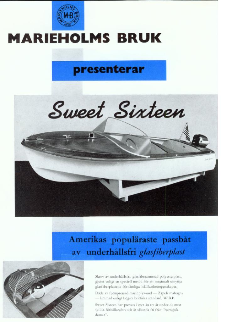 Sweet Sixteen early boat