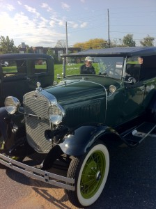 Ford Model A at Hershey 2012
