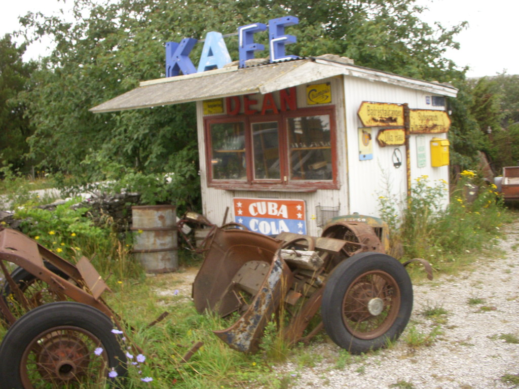 A-Fordhjul på Gotland Kuten