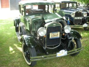 A-Ford Kupe som vi tidigare ägt