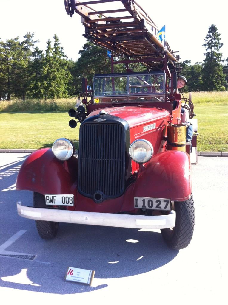 Klubbens Dodge Brandbil