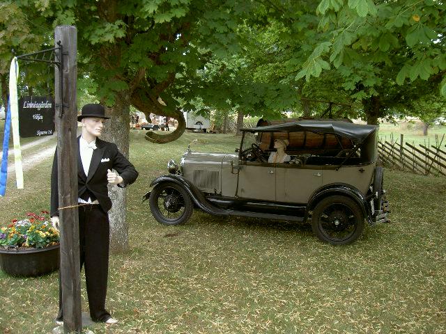 Ford Model A Phaeton 1928 at Gotland Sweden