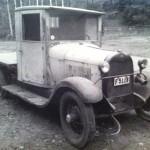 A-Ford lastbil 1929 Svenskbyggd
