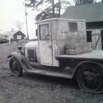 Läderinredning A-Ford 1929 Lastbil