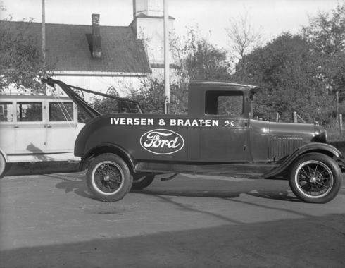 Ford AA Tow Truck in Norway