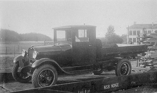 Ford Model AA in Norway