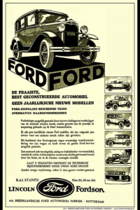 Ford Model A ads