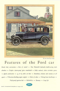 Ford Model A 1928 AD
