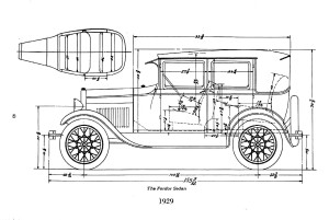 4D Ford Model A