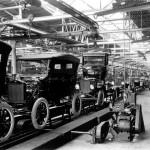 T-Ford fabriksbild karossmontering